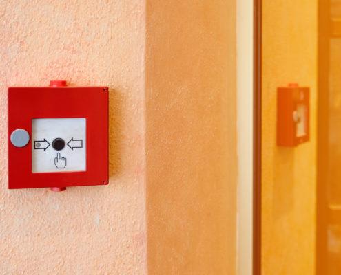 Contrôle des alarmes incendie