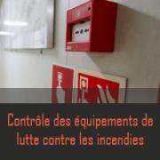 Contrôle des extincteurs et portes coupe-feu