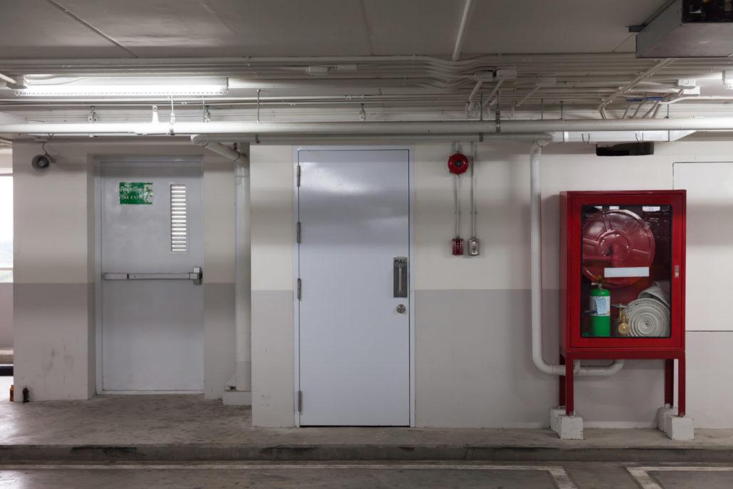 Maintenance des portes coupe feu