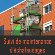 Application maintenance échafaudage