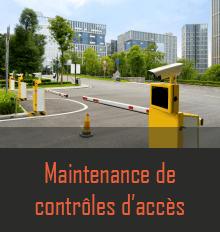 Maintenance contrôle accès
