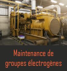 Maintenance groupe électrogène