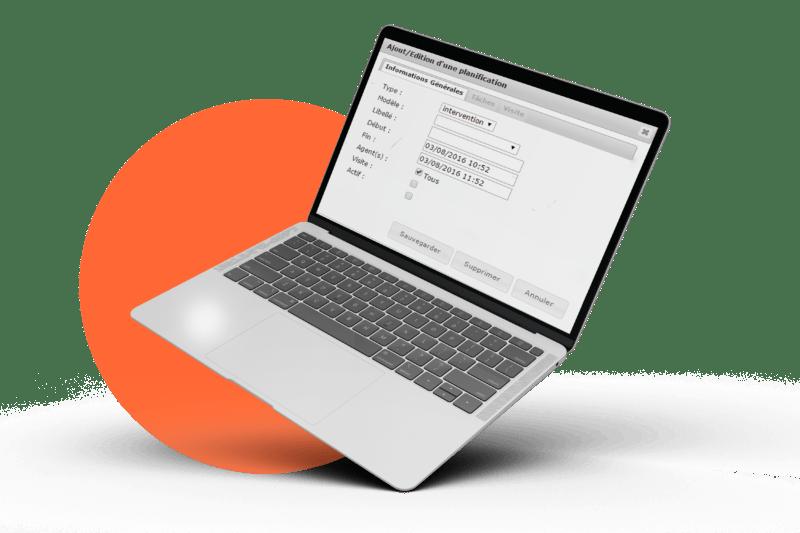 Application personnalisée sur web dans le secteur de l'industrie