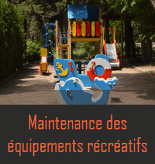 Maintenance aire de jeux