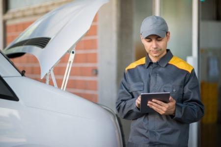 Application personnalisée sur tablette dans le secteur de l'industrie