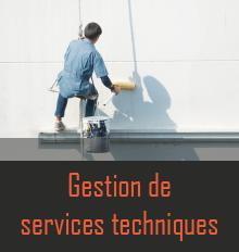 Gestion services techniques